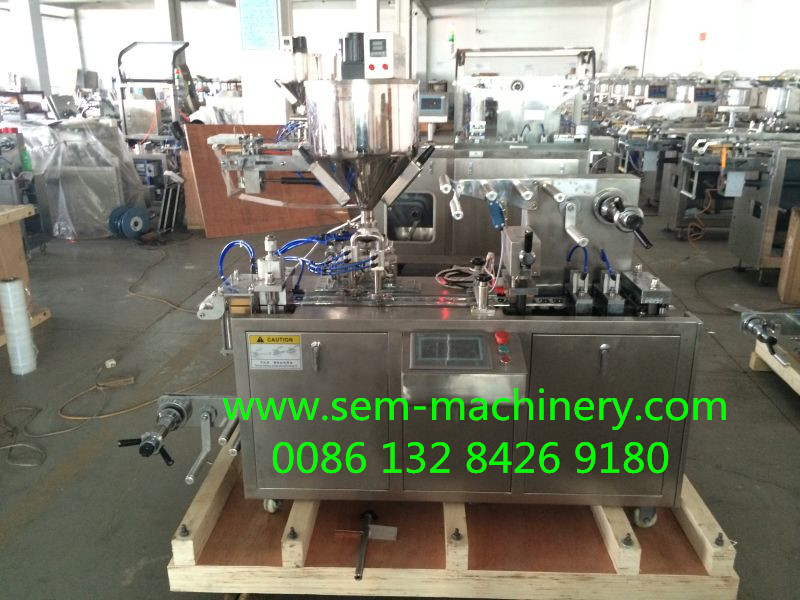 small honey blister packing machine