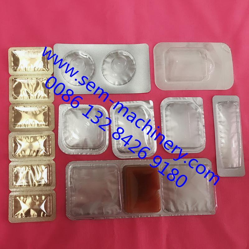 mini dose cream blister packing machine