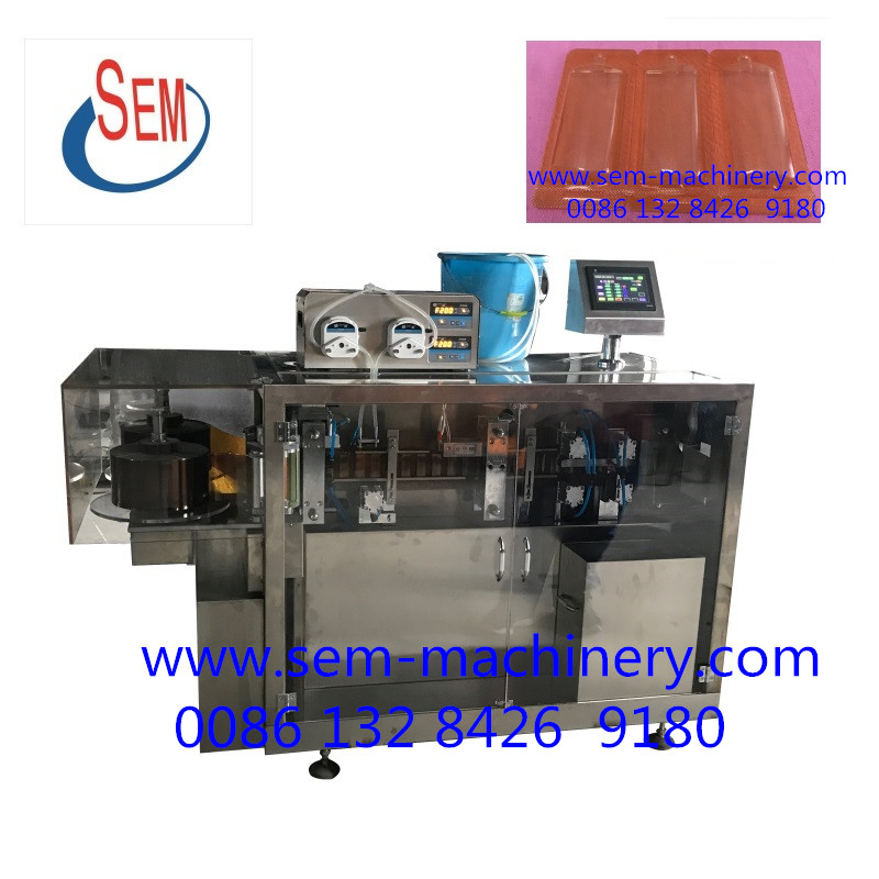 energy drinks plastic ampoule packaging machine/filling machine