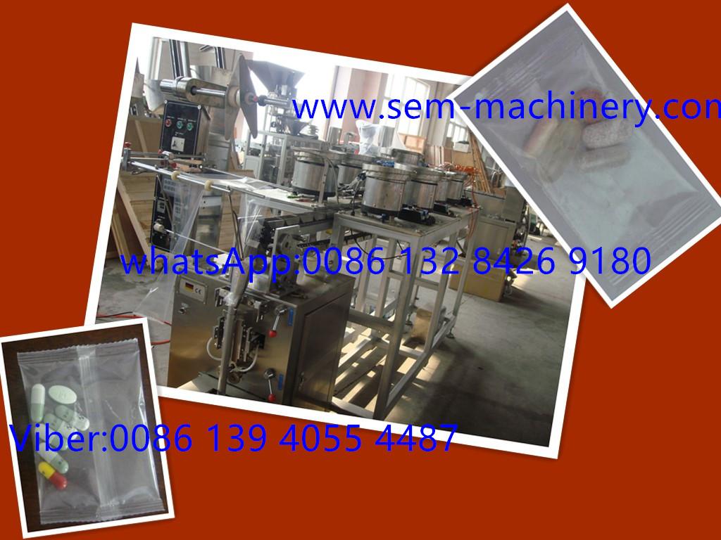 Tablet Sachet Packing Machine