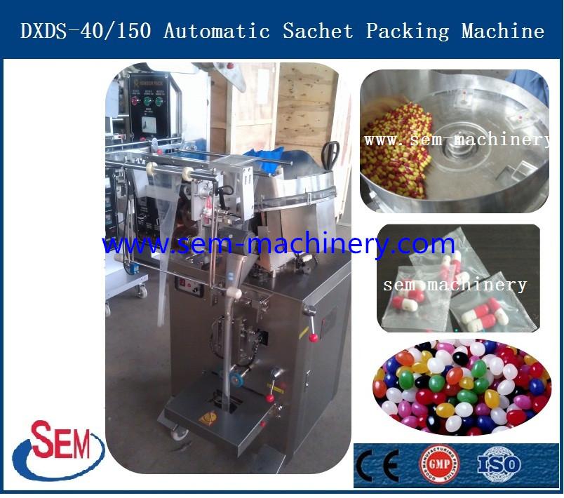 Automatic Capsule Sachet Packing Machine