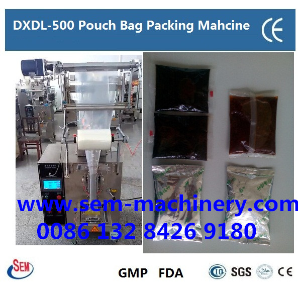 Automatic 150g 200g pouch bag sachet packing machine