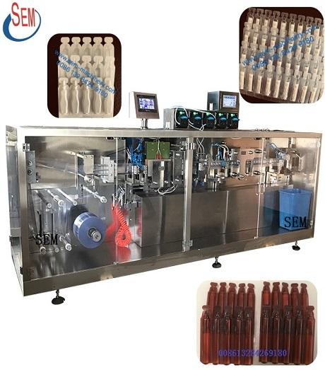 Automatic Liquid Capsule Plastic Vial Packing Machine