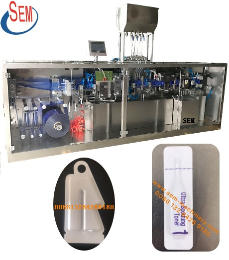 breathable film foil perfume packing machine