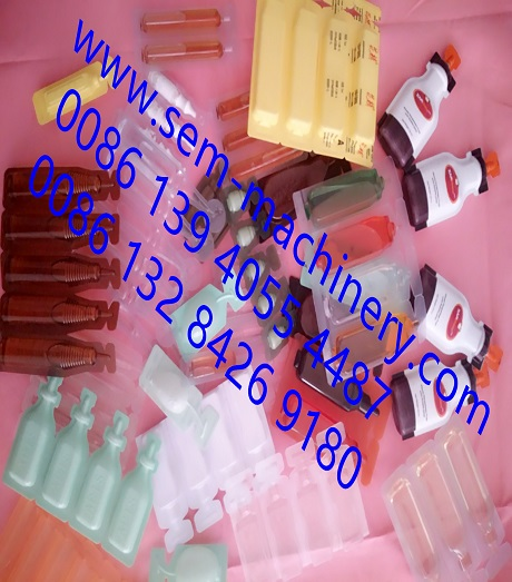 Blow Molding Machine for Plastic Ampoule Liquid Packing
