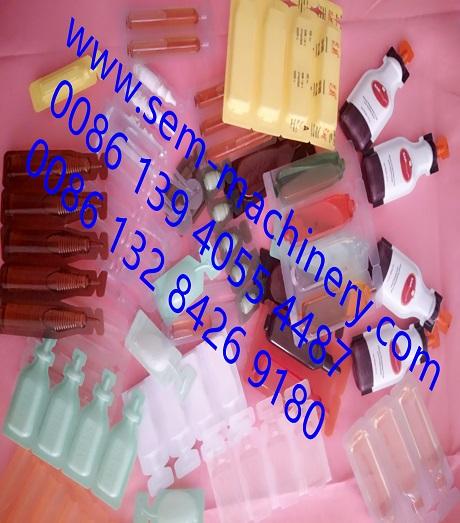 Plastic Vial Form Fill Seal Machine Liquid Packaging Machine