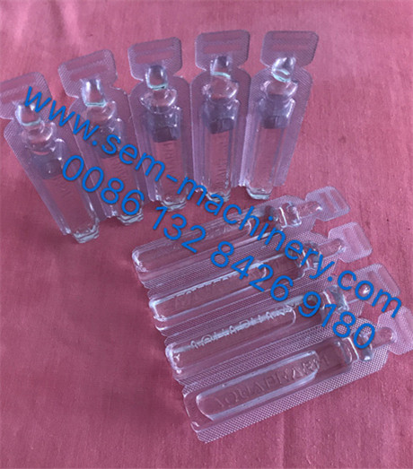 plastic vial syrup liquid packing machine