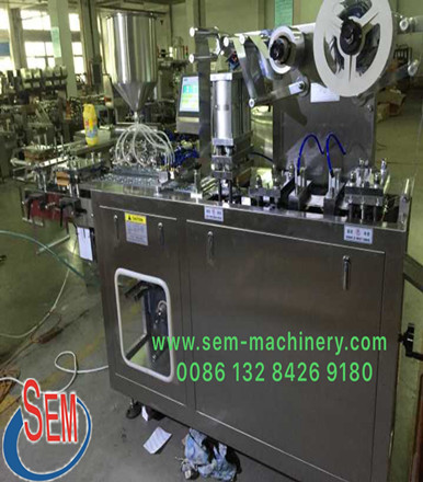 Automatic Liquid Blister Packing Machine Finished Production