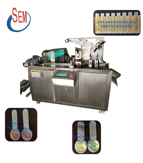 automatic perfume blister packing machine