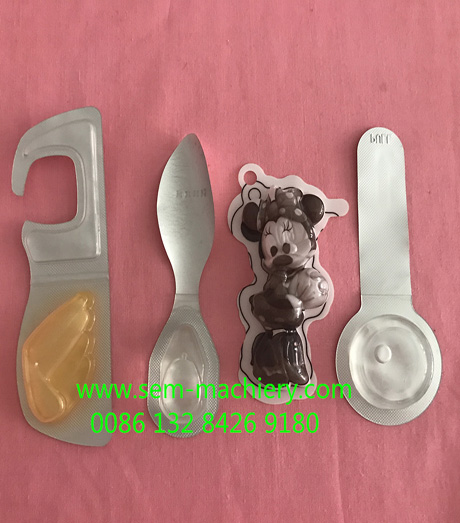 mini size perfume blister packing machine