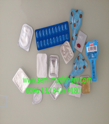 Chinese medicine blister packing machine
