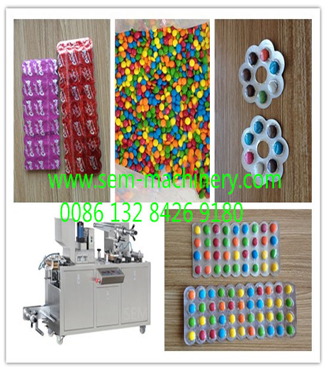 chocolate beans blister packing machine