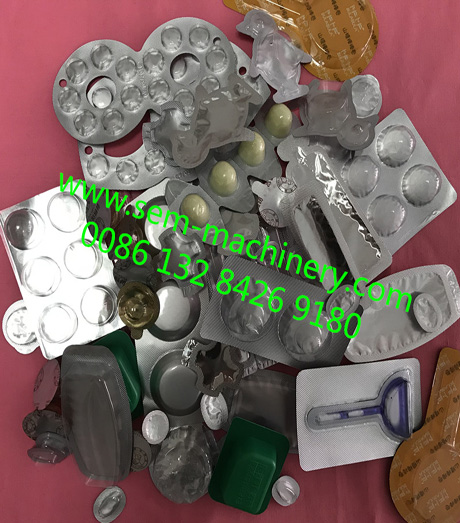 chewing gum blister packing machine