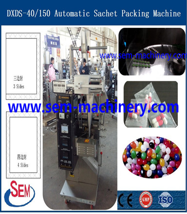 Lubrication of Automatic Capsule Sachet Packing Machine
