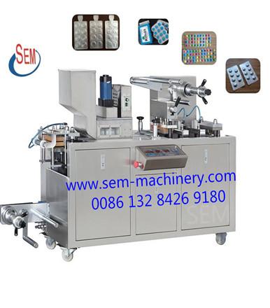 Performance Characteristics Of Automatic Pharma Blister Packing Machine