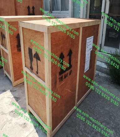 Two Sets Blister Packing Machine Was Packed And Delivered Today