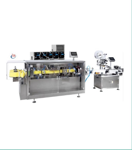 BFS Ampoule Liquid Filling labeling Packing line