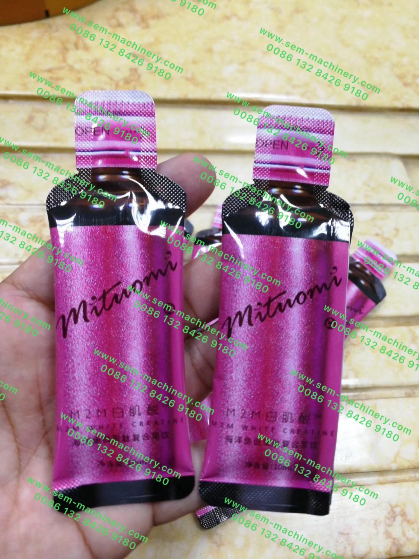 Bottle Shape Sachet Packing Machine