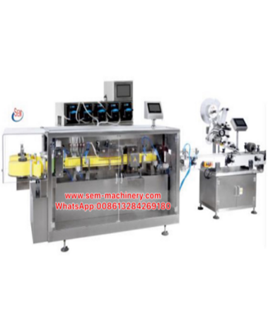 Automatic BFS Liquid Packing Machine with Labeling Machine