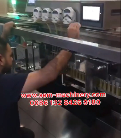 Teaching Customer Side Workers for Installation And Operate Machine