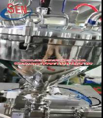 Automatic filling testing special for heavy density products.