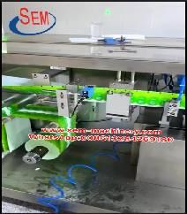 The machine running in customer factory