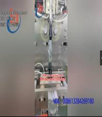Honey  sachet packing machine.