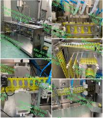 Olive oil packing.