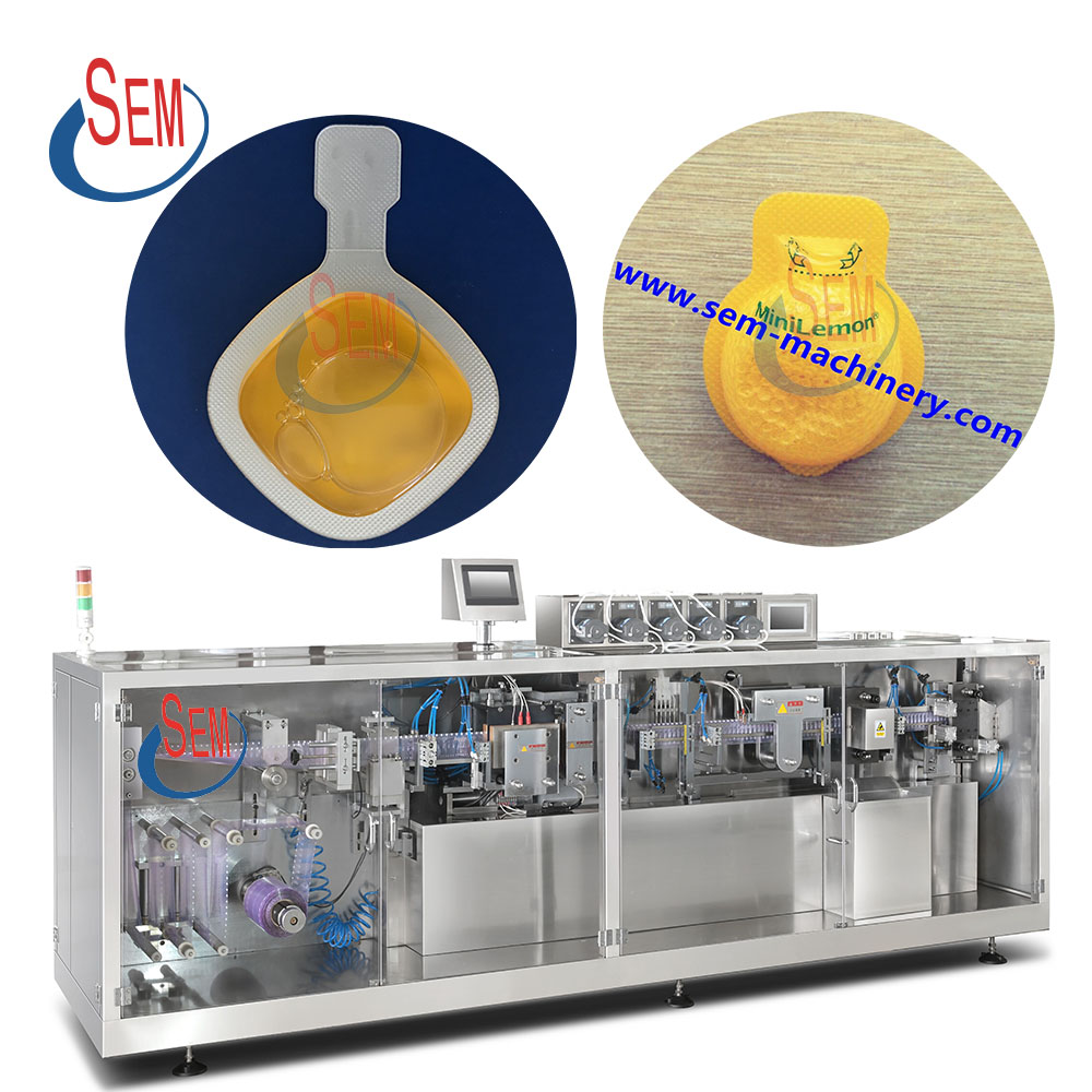 Automatic olive oil forming filling sealing liquid packing machine