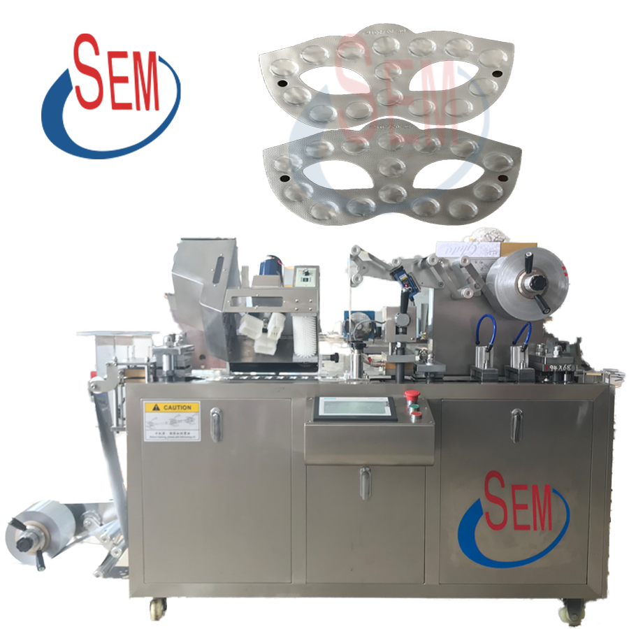 Automatic Blister Packaging Machine for Honey, Capsule, Tablet, Pill, Candy