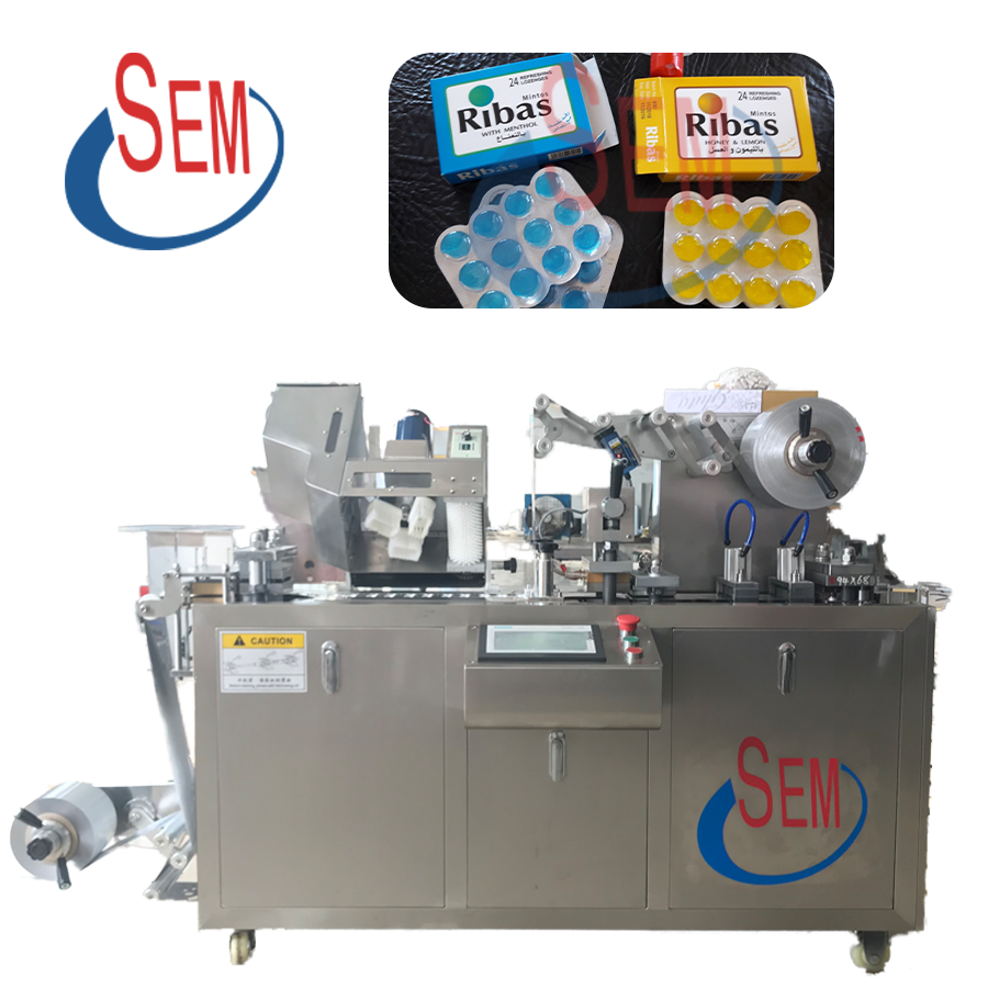 small automatic tablet/capsule/soft gelatin blister packaging machine