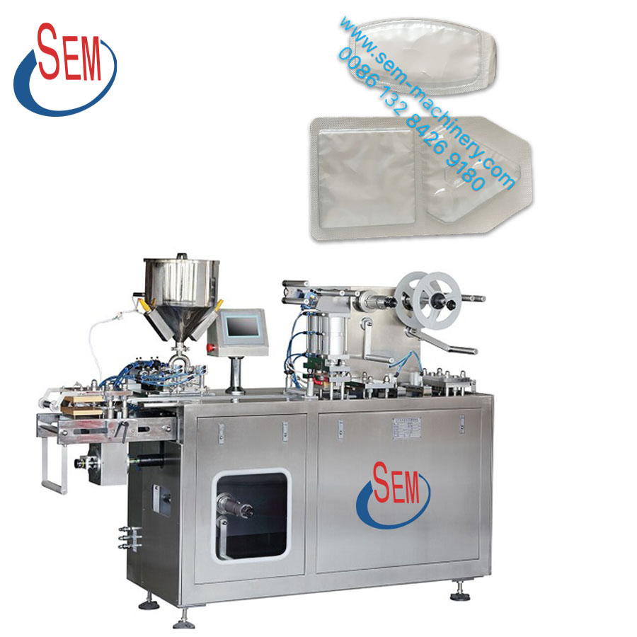 DPP140 Small blister liquid filling automatic chocolate blister packing machine