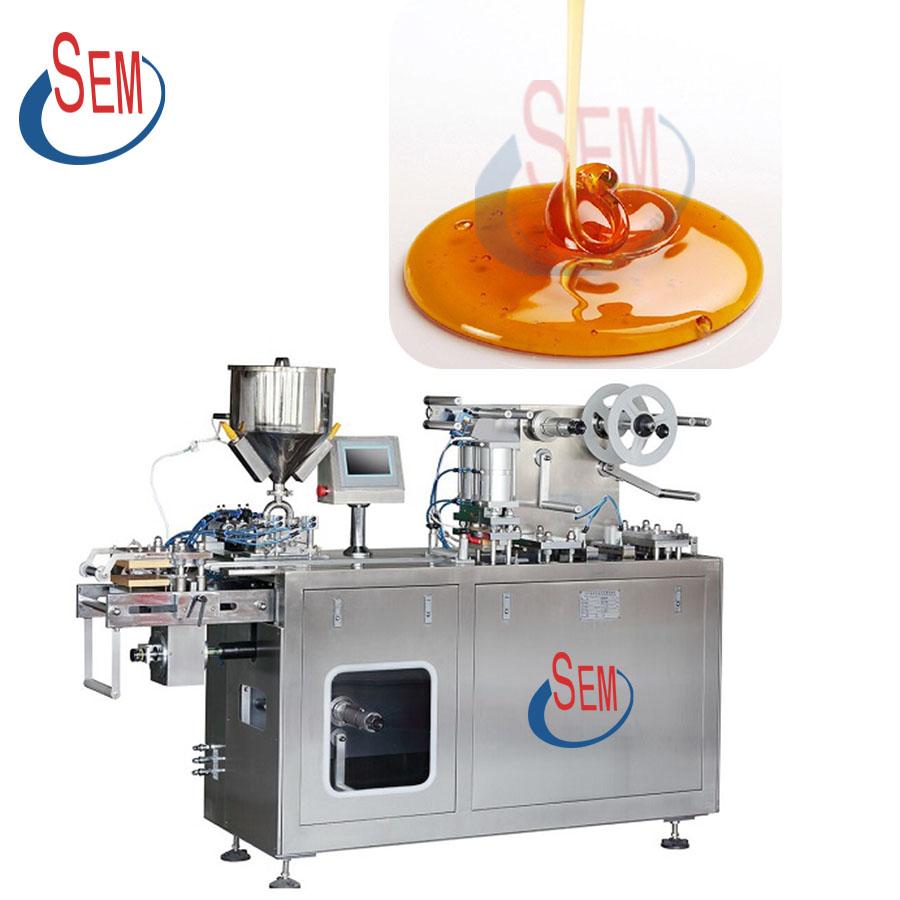 DPP140 Mini blister packaging automatic liquid perfume filling machine