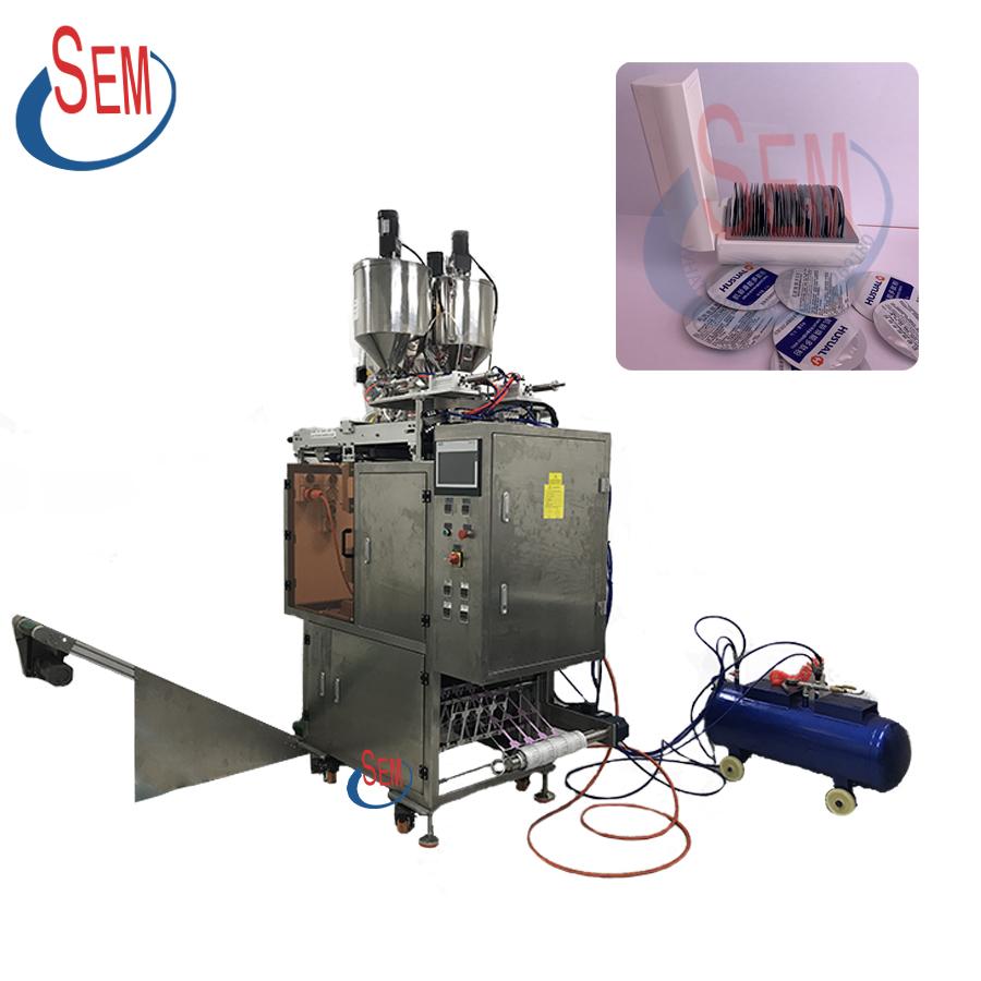 Automatic sachet liquid alcohol gel packing machine
