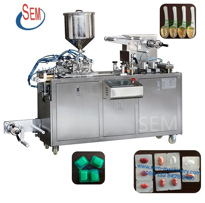 DPP-80 honey blister packing machine