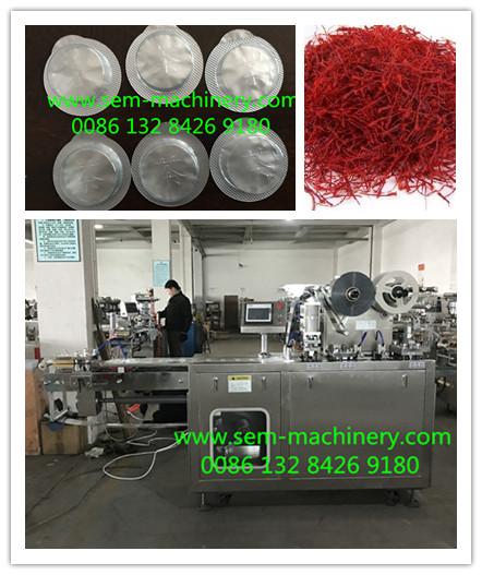 Saffron Blister Packing Machine