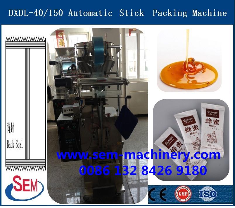 honey jam gel stick  packing machine