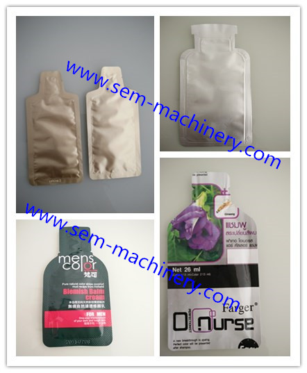 Irregular shape sachet packing machine