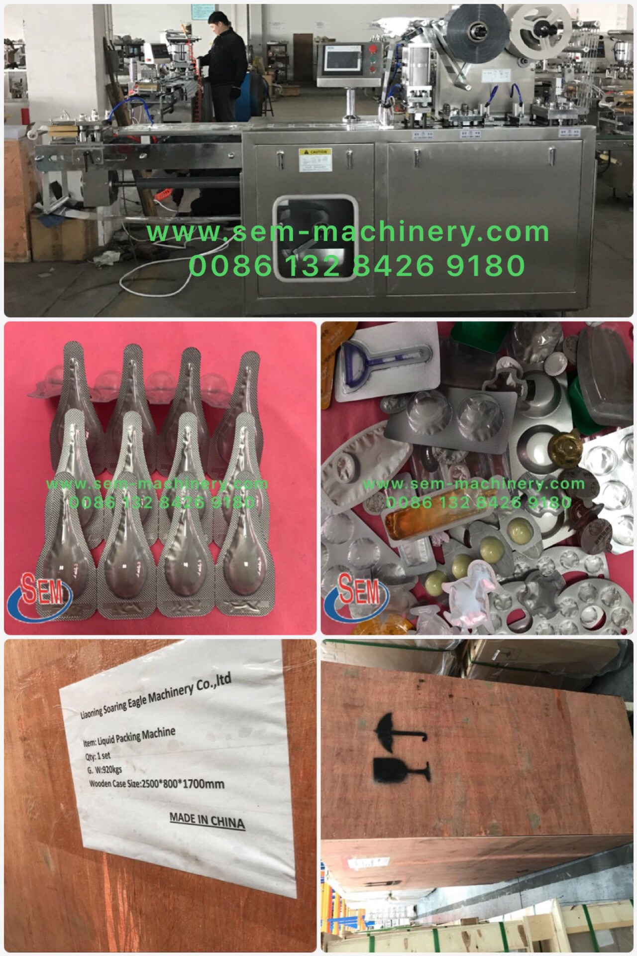 Automatic Blister Packing Machine Delivery