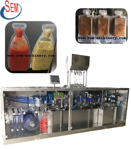 plastic bottle sauce packing machine