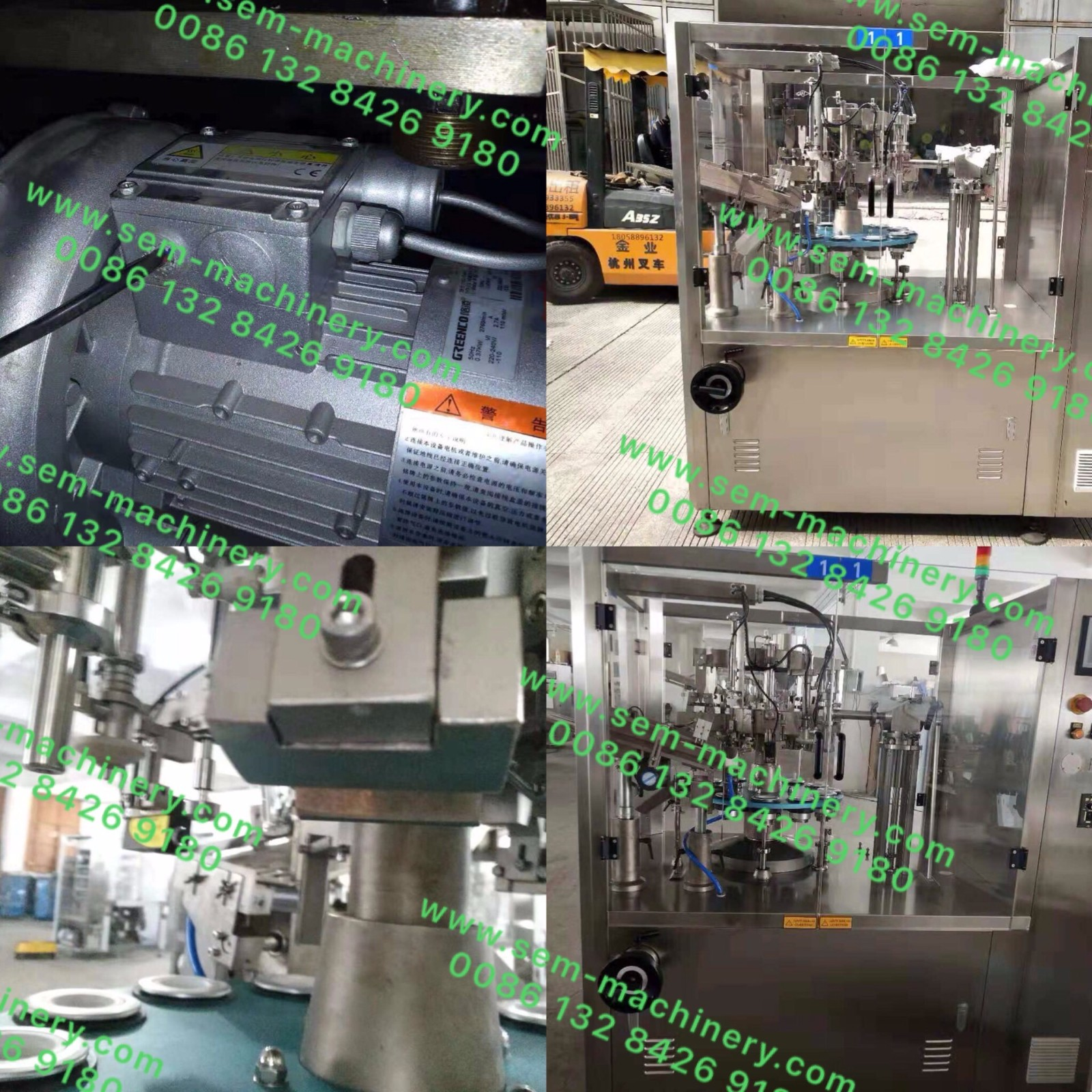 Liquid filling and carton box packing line machines delivered