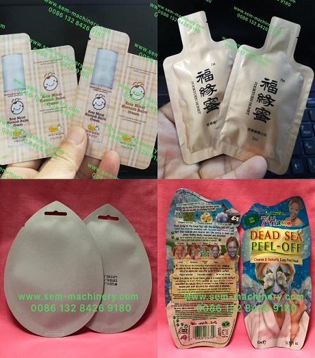 irregular shaped sacht packing machine