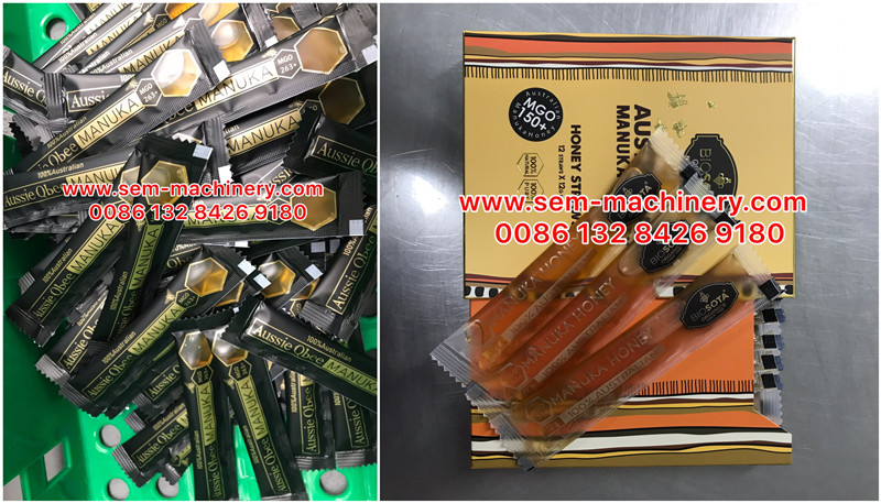 Australia Famous Brand Honey Manufacture Use Our SEM Sachet Packing Machine