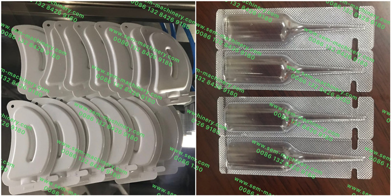 Automatic Plastic Ampoule Liquid Packing Machine