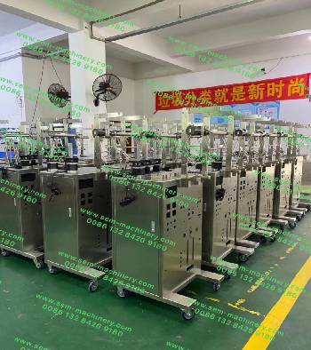 Sleep mask packaging machine for one group 3branch production .total 18sets.